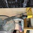 Télécharger fichier STL gratuit Support mural pour ventilation sur pied • Objet pour imprimante 3D, Picaboubx