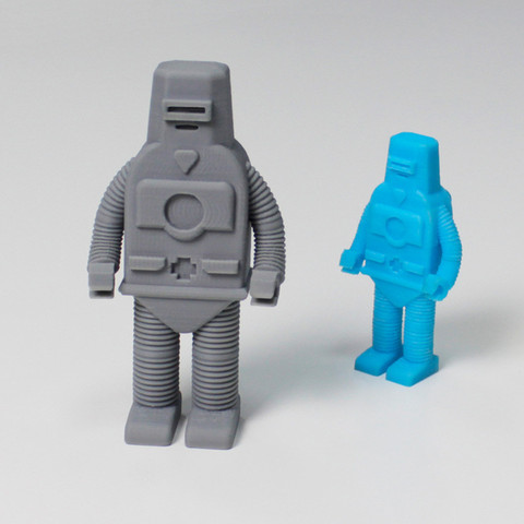Download free 3D printing templates Z Robot, Zortrax