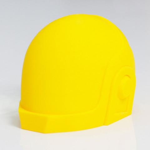 Free 3d printer designs Guy Manuel from Daft Punk Helmet, Zortrax