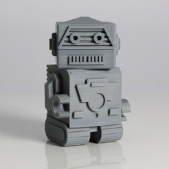Download free STL file Robotto • 3D print design, Zortrax