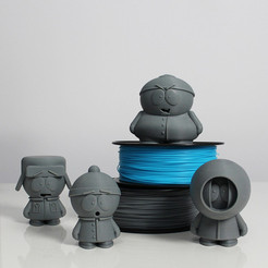 Free 3D printer model South Park Crew, Zortrax
