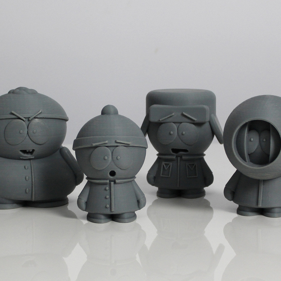s1.jpg Download free STL file South Park Crew • Template to 3D print, Zortrax