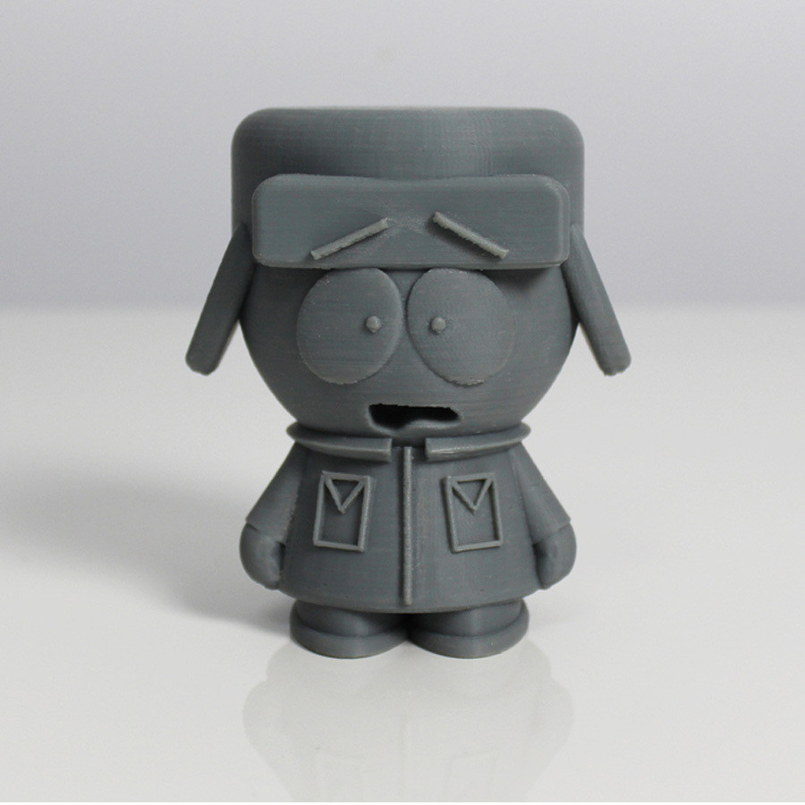 kyle.jpg Download free STL file South Park Crew • Template to 3D print, Zortrax