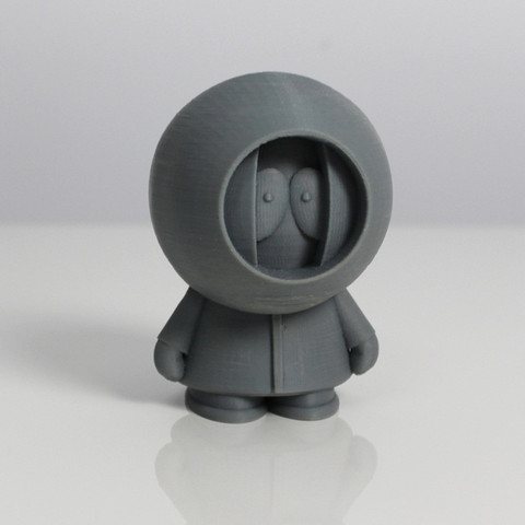 kenny.jpg Download free STL file South Park Crew • Template to 3D print, Zortrax