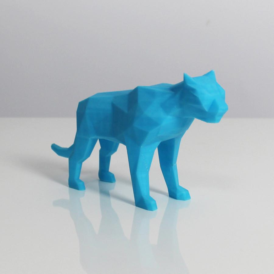 t1.jpg Télécharger fichier STL gratuit Poly Tigre • Objet à imprimer en 3D, Zortrax