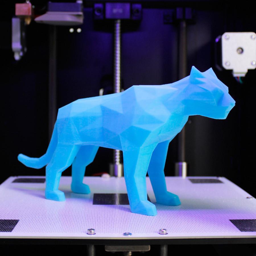 t3.jpg Télécharger fichier STL gratuit Poly Tigre • Objet à imprimer en 3D, Zortrax