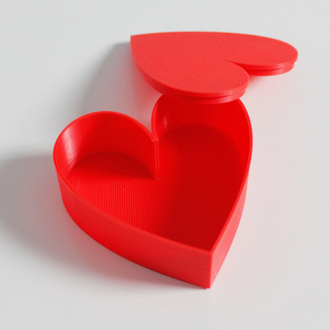 Download free STL files Heart Box, Zortrax