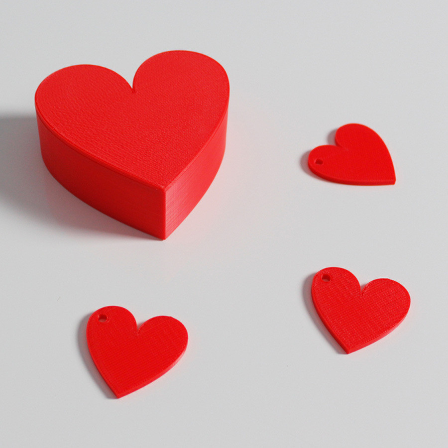 h3.jpg Download free STL file Heart Box • Design to 3D print, Zortrax