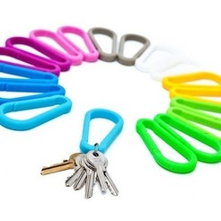 Download free STL file Zortrax Carabiner • 3D printing object, Zortrax