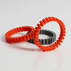 b1.jpg Download free STL file Z Bracelet • Model to 3D print, Zortrax