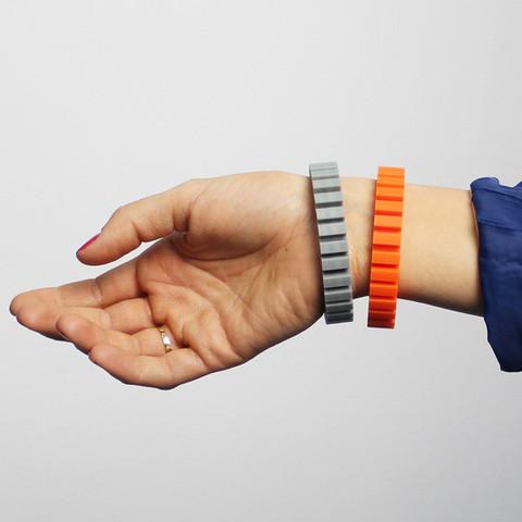 b2.jpg Télécharger fichier STL gratuit Bracelet en Z • Objet à imprimer en 3D, Zortrax