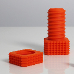 Download free 3D printer templates Z Screw & Z Nut, Zortrax