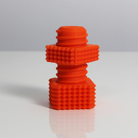s1.jpg Download free STL file Z Screw & Z Nut • 3D printable template, Zortrax