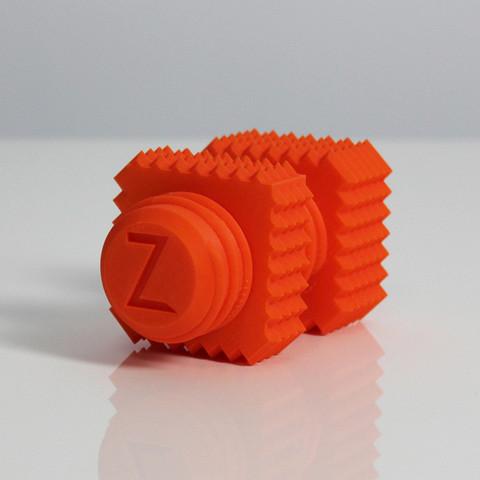 s4.jpg Download free STL file Z Screw & Z Nut • 3D printable template, Zortrax