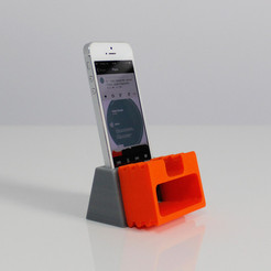 Free iPhone 5 Amp 3D model, Zortrax