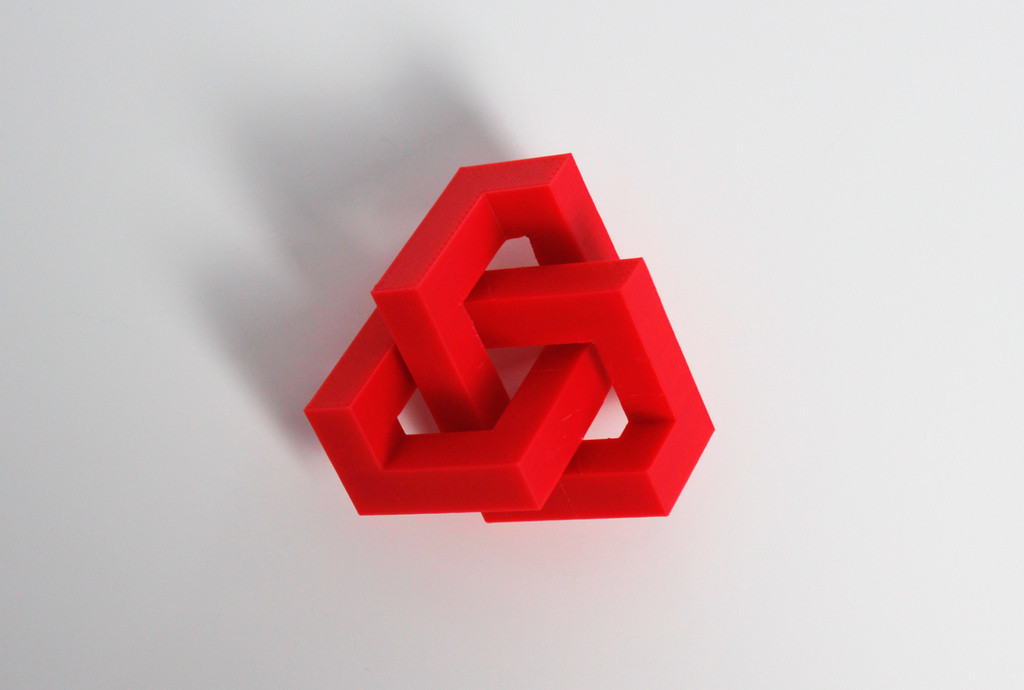 2_display_large.jpg Download free STL file Geometric Knot • 3D printer template, Zortrax