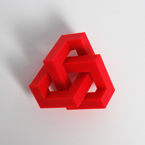 Download free 3D printing designs Geometric Knot, Zortrax