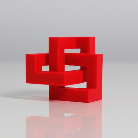 1_display_large.jpg Download free STL file Geometric Knot • 3D printer template, Zortrax