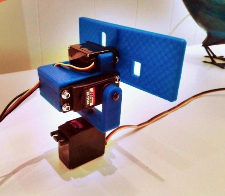 Capture d'écran 2016-10-17 à 18.09.01.png Download free STL file Pan, tilt and roll camera pod for FPV. • 3D printing object, tahustvedt
