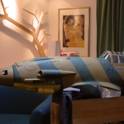 Download free 3D print files Spinner for Piccole Ali / Hobbyking Macchi C.205 Veltro, tahustvedt