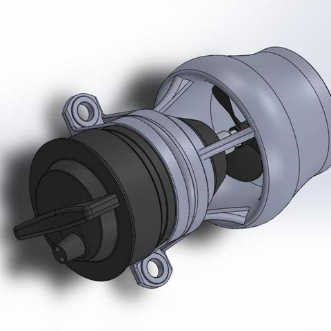 Download free 3D print files ROV Kort Nozzle for Bilge Pump