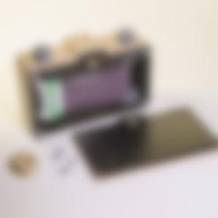 Download free STL file Parametric 35 mm Pinhole • Design to 3D print, cirion