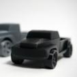 Capture d'écran 2016-10-20 à 16.47.19.png Download free STL file Pickup Truck • 3D printable template, WallTosh