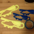 Download free 3D print files Lynx Helicopter cookie cutters, tahustvedt