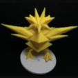 Download free 3D printer designs Zapdos, Lockheart