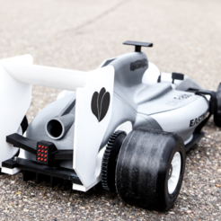 Download free 3D print files OpenRC F1 250% scaled, colorFabb