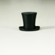 Free Silk hat hook STL file, WallTosh