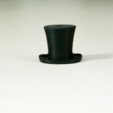 Descargar modelo 3D gratis Gancho de sombrero de seda, WallTosh