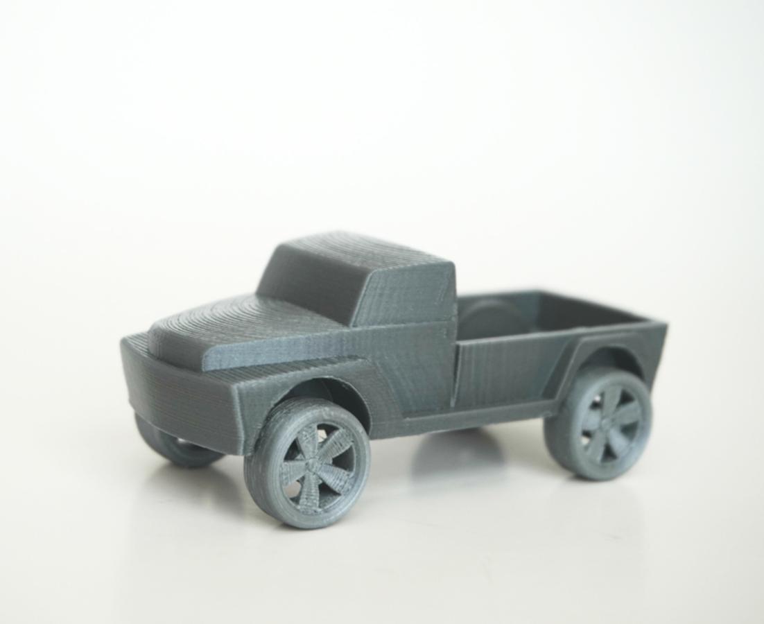 Capture d'écran 2016-10-20 à 16.47.32.png Download free STL file Pickup Truck • 3D printable template, WallTosh