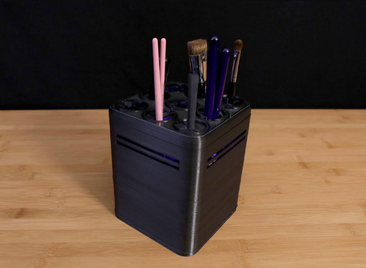 Capture d'écran 2016-10-14 à 10.10.35.png Download free STL file UV Brush cleaner • 3D printer model, Adafruit