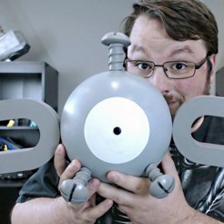 Free Giant Magnemite - Pokemon 3D printer file, ChaosCoreTech