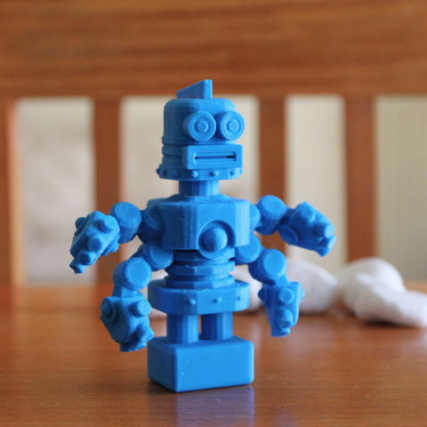 Download free STL file Amazed Archie • Template to 3D print, ThinkerThing