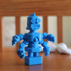 Download free 3D printing templates Amazed Archie, ThinkerThing