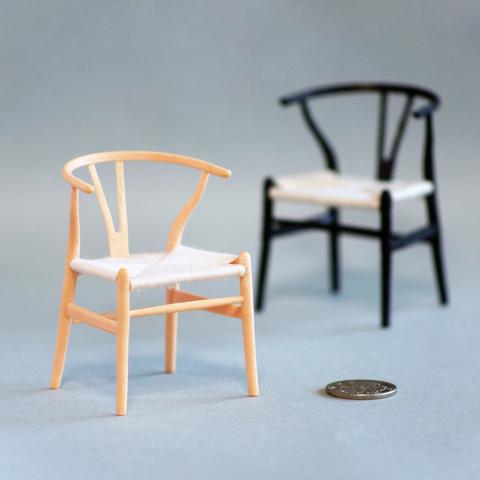 Download free STL file Hans J Wegner WISHBONE CHAIR (Y CHAIR) • 3D printer template, akira3dp0
