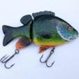 Descargar archivos STL gratis Realalistic Sunfish articulado Swimbait pesca señuelo, sthone