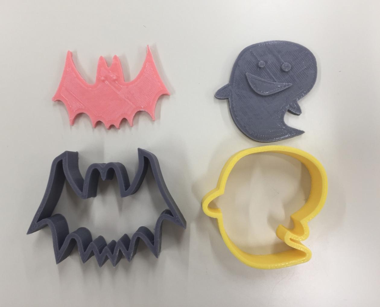 Capture d'écran 2016-10-17 à 09.54.59.png Download free STL file Halloween Cookie Cutter • Model to 3D print, Yuko