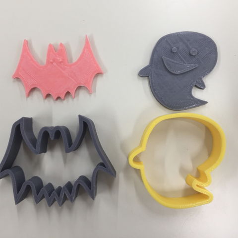 Download free 3D printing files Halloween Cookie Cutter, Yuko