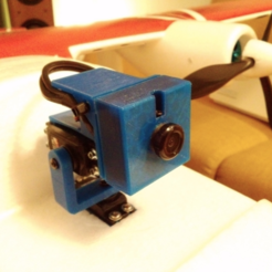 Free STL files Camera housing for 36 mm mini FPV cameras., tahustvedt