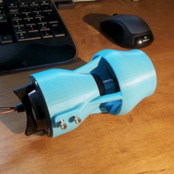 Free 3d printer files ROV Kort Nozzle for Bilge Pump Thruster w/Integrated Mount., sthone