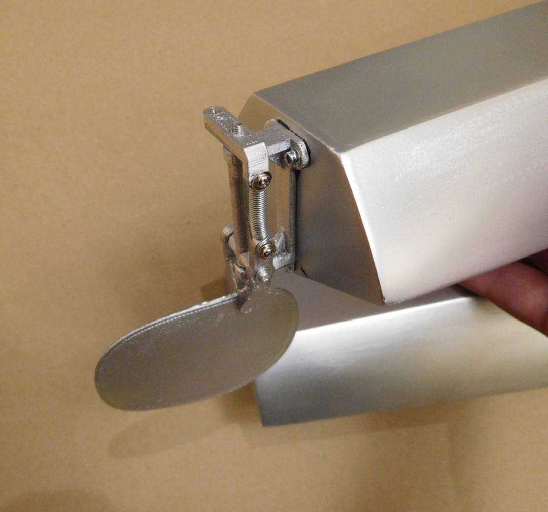 Capture d'écran 2016-10-17 à 18.26.11.png Télécharger fichier STL gratuit Water rudder for Piper Cub RC model. • Objet imprimable en 3D, tahustvedt