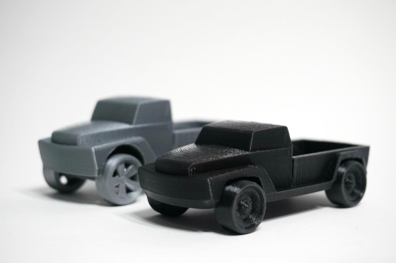 Capture d'écran 2016-10-20 à 16.47.12.png Download free STL file Pickup Truck • 3D printable template, WallTosh