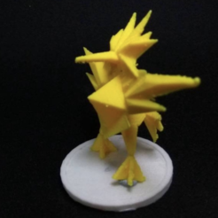 Download free 3D printer designs Zapdos, Lockheart