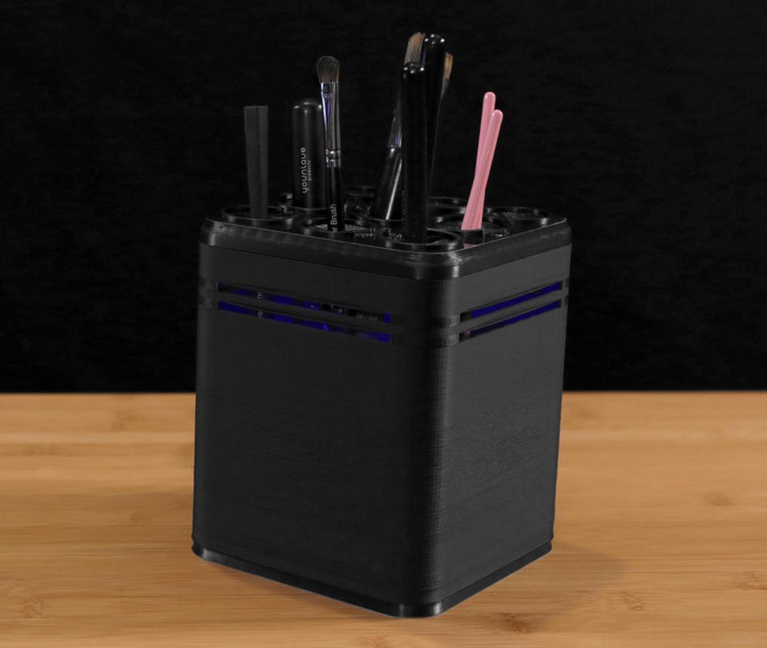 Capture d'écran 2016-10-14 à 10.11.19.png Download free STL file UV Brush cleaner • 3D printer model, Adafruit