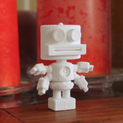 Download free 3D printer designs Bigheaded Tom, ThinkerThing