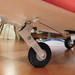 Télécharger modèle 3D gratuit Durafly Skymule nose spring strut, tahustvedt