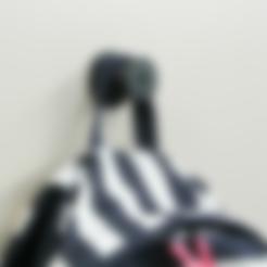 Télécharger fichier imprimante 3D gratuit Silk hat hook, WallTosh